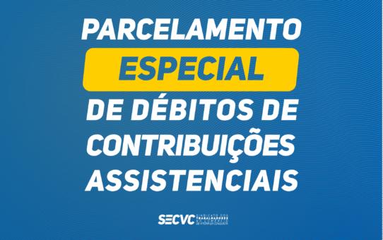 SECVC lança Programa de Regularização de Débitos de Contribuições Assistenciais