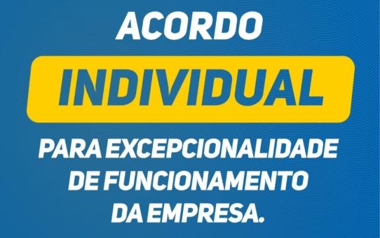 SECVC disponibiliza acordo individual para excepcionalidade de funcionamento da empresa