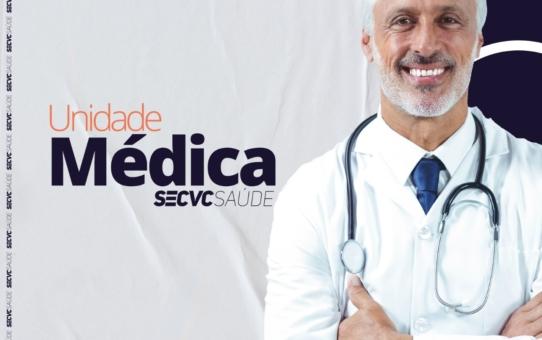 Unidade Médica SECVC divulga agenda para agosto
